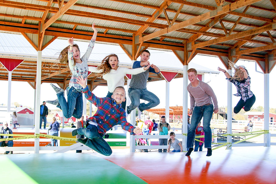 orr group of people on jumping pillow.jp