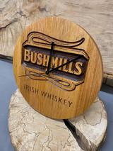 Solid Irish Whiskey Cask Clocks