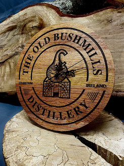 Irish Whiskey Cask Clocks