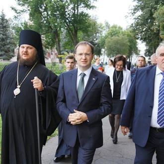 Владимир Мединский: восстановление Костромского кремля имеет неоценимое значение не только для Костр