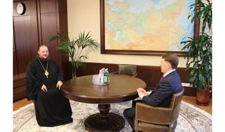 Состоялась встреча митрополита Ферапонта и полномочного представителя Президента Российской Федераци