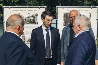 Полномочный представитель Президента РФ посетил строительную площадку храмового комплекса Костромско