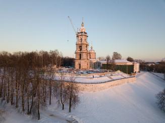 Работы в Костромском кремле: фоторепортаж