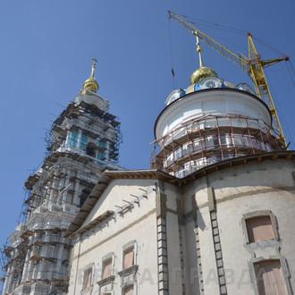 Продолжается восстановление главного храмового комплекса региона