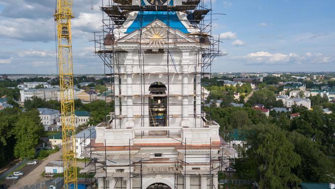 Второй концерт колокольных звонов в Костромском кремле