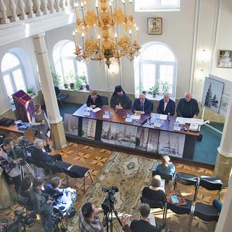 В Костромской епархии прошла пресс-конференция по реализации проекта воссоздания храмового комплекса