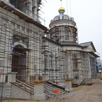 В областном центре продолжают восстанавливать ансамбль Костромского кремля