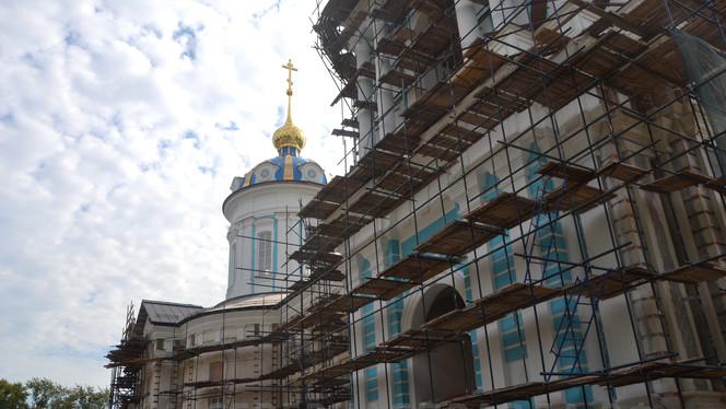 В выходные все желающие смогли увидеть, как вырос и изменился Костромской кремль