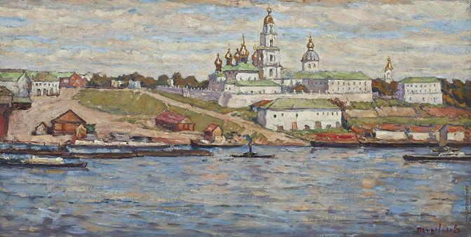 Вид на Костромской кремль