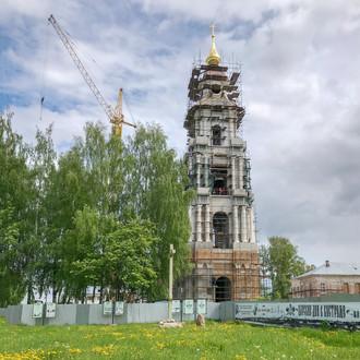 Какие работы сейчас проводят строители Костромского кремля?