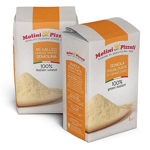 Semola rimacinata Durum wheat semolina flour