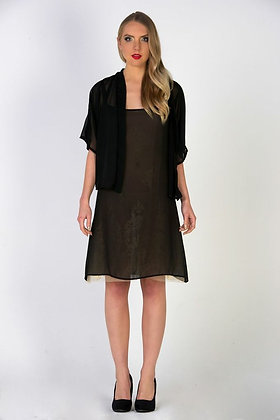 Chiffon on Lace Dress & Chiffon Jacket