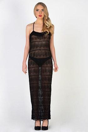 Vintage Style Crochet Dress