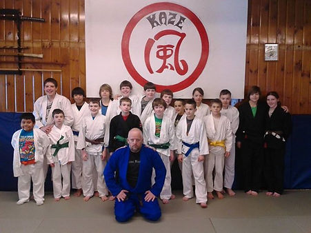 Kaze Kids Class! So lucky to have such Great kids and parents!