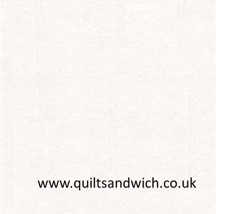 White Sateen plain - 118 inches wide per qtr metre
