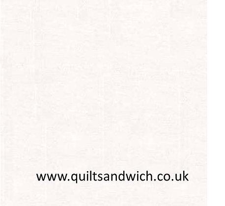 White Sateen plain - 118 inches wide per qtr metre
