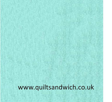 Flannel -Aqua - 108inches  wide per qtr metre