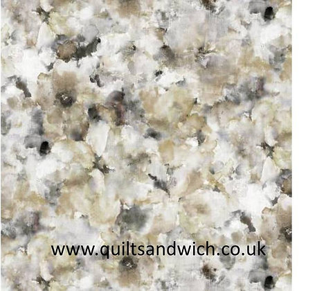 Grey Watercolours 108inches  per qtr metre