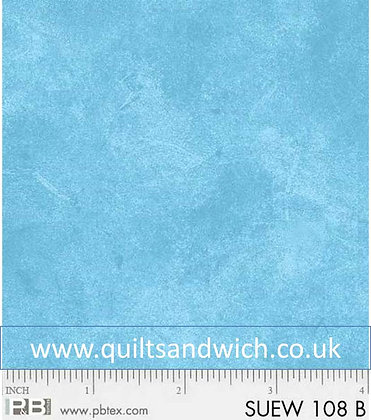 P & B Suede light blue 108 inches x 45 inches