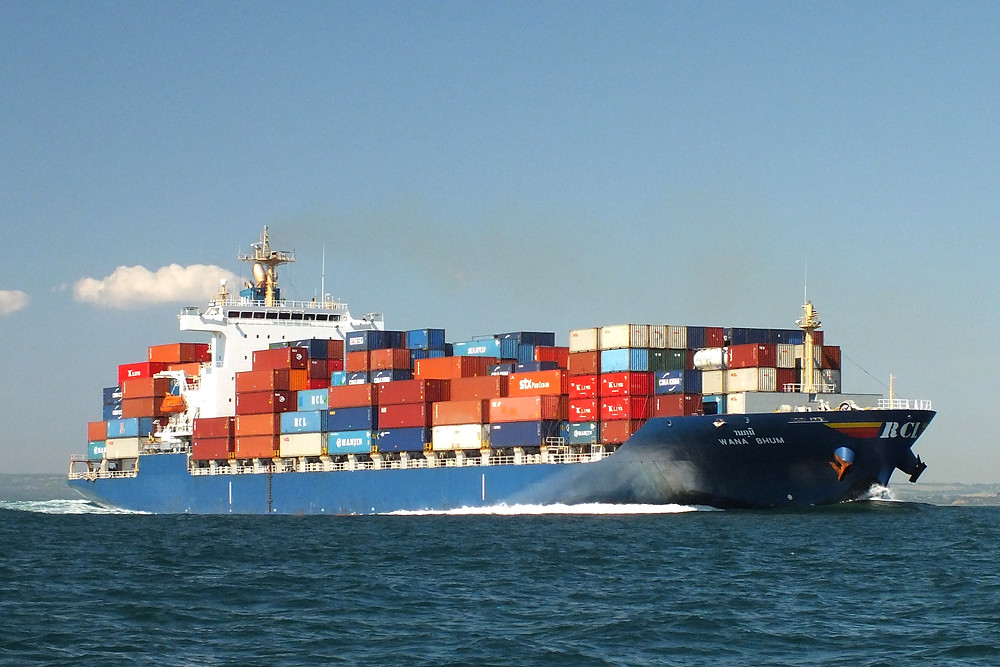 Plastic Fabric Container Ship