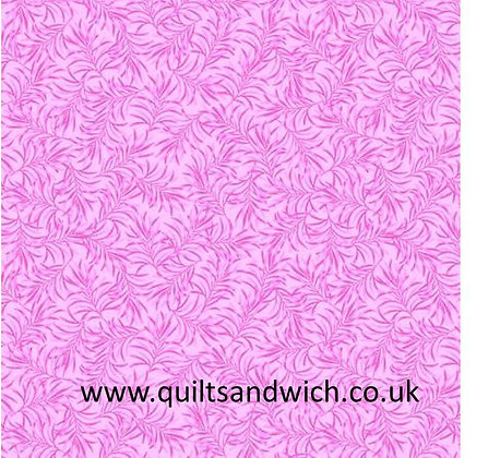 Pink-Boughs of Beauty by Benartex 108 inches  per qtr mtr