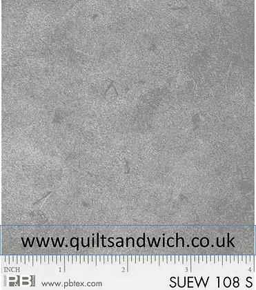 P &B Suede Medium Grey per qtr metre