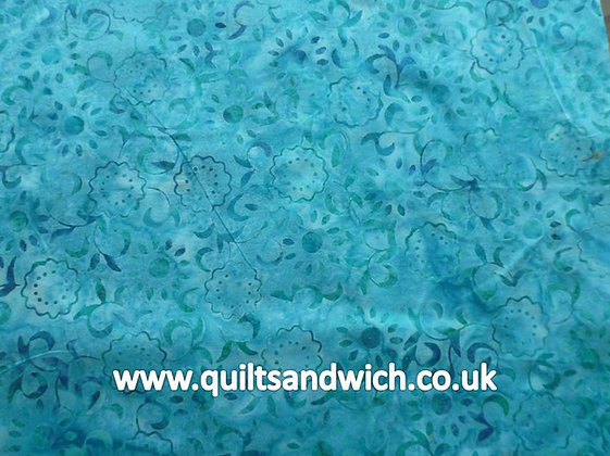 QS  Petal Turquoise per quarter metre