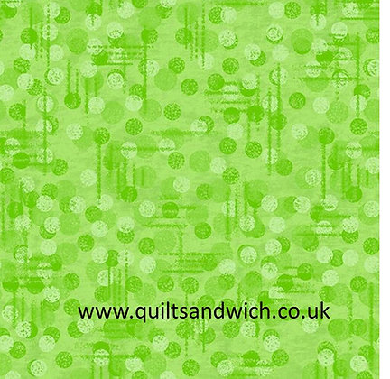 Jot Dot Green 108inches  wide