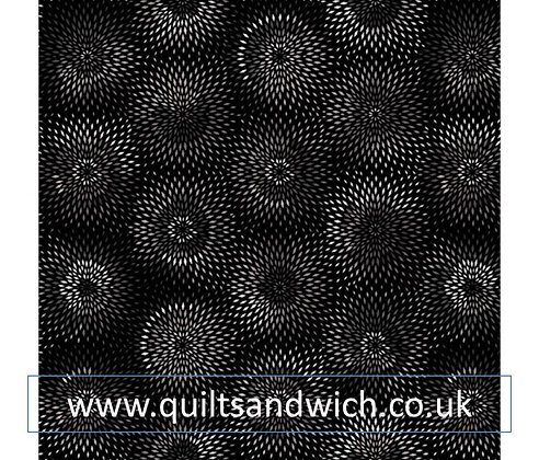 Radiance Black  per qtr metre