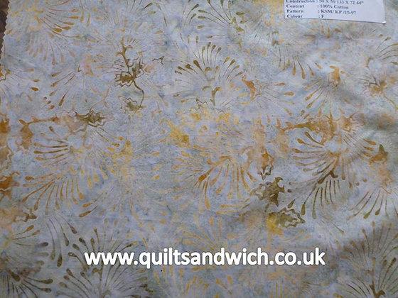 QS  Fireworks Duck Egg per quarter metre
