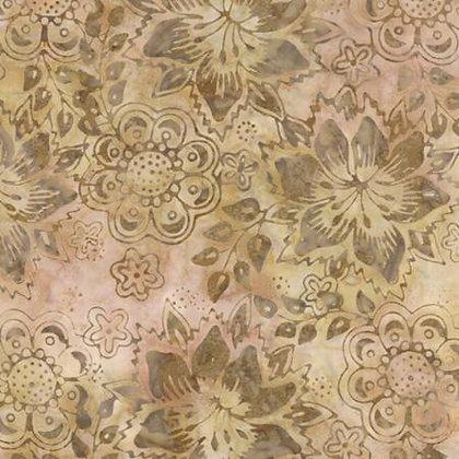 Moda Batik 76 Day Liliy Sand 108 per quarter metre