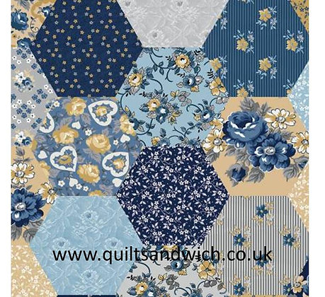 Patchwork Multi 108inches  wide