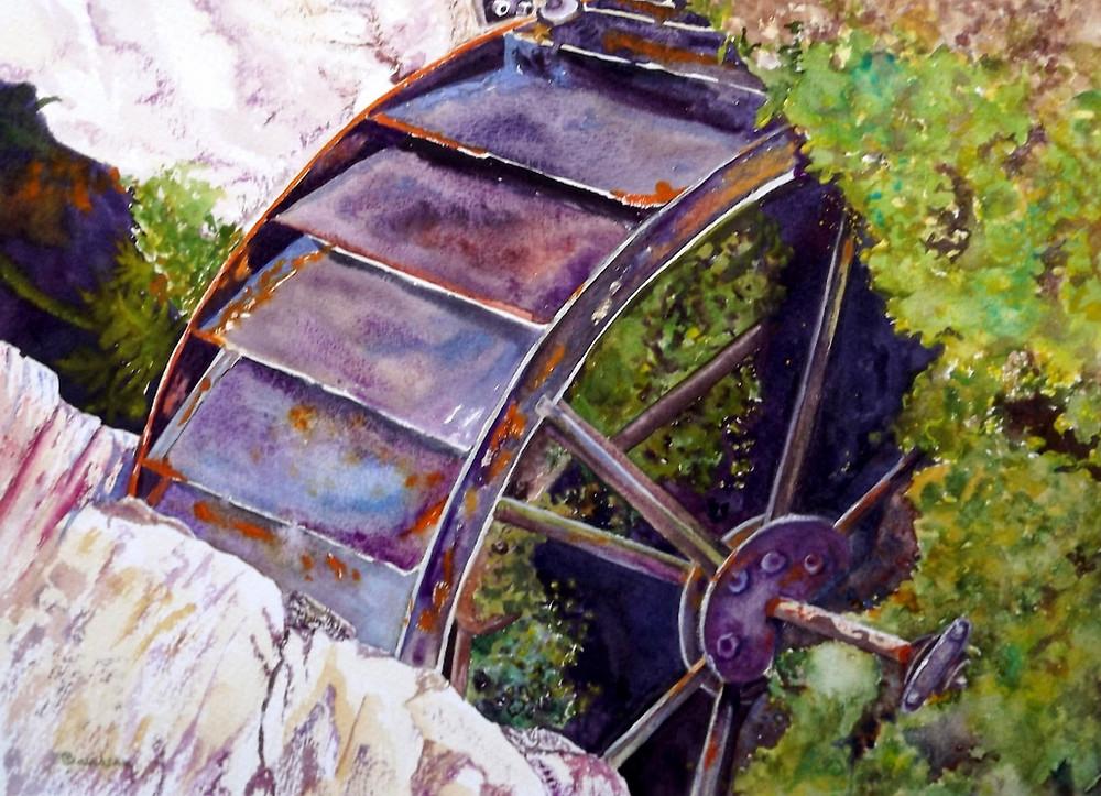 Waterwheel Carol Davidson