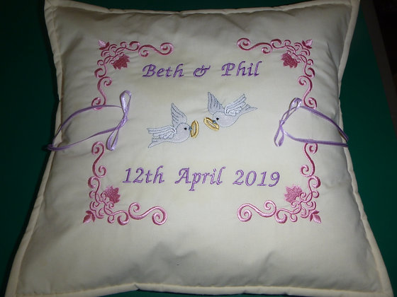 Made to Order Ring Cushion approx 12 inch square