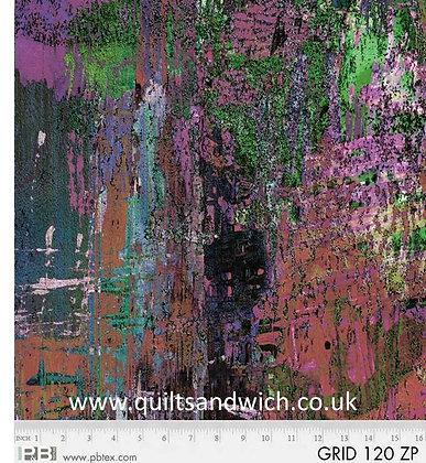 P & B Off the Grid purple  per qtr metre