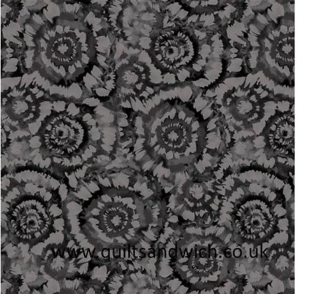 SpinArt charcoal 108inches  per qtr metre