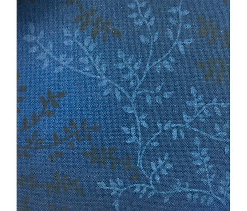 dark blue 206  Vineyard  - Roll End 108 inches x 105 inches
