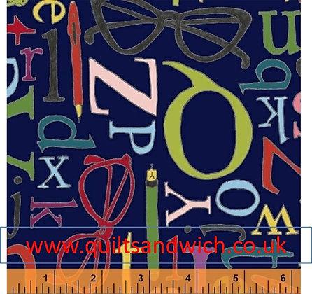 Windham Alphabet per qtr metre