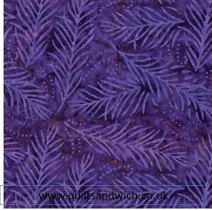 Purple Delicate Fronds per qtr metre