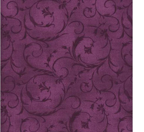 P B violet red 108 inches  per qtr mtr