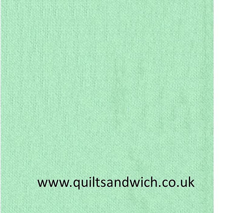 Flannel - Mint  108inches  wide per qtr metre