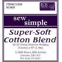 Sew Simple 80/20  ...90 wide  per Metre