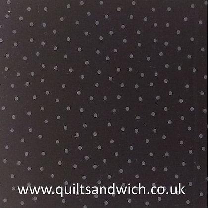 Dots - Black per qtr metre