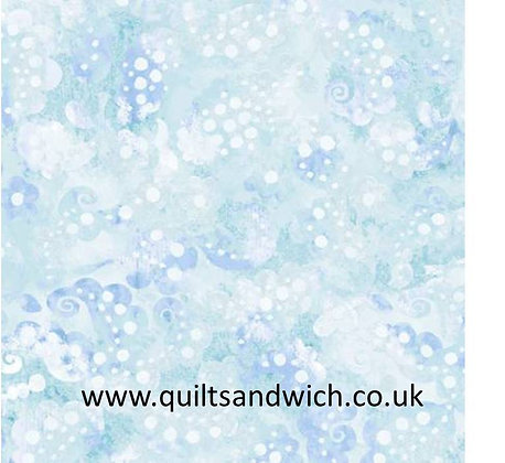 Day Dream teal - 108inches  wide