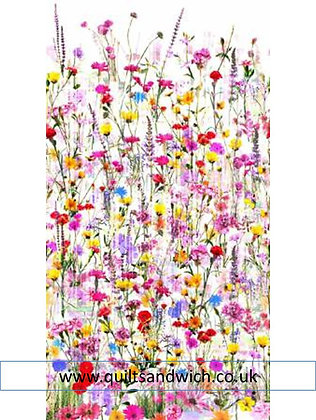 SpringFloral 104 inches wide x 77 inches