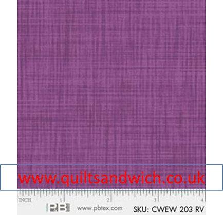 P & B Colour weave rv per qtr metre