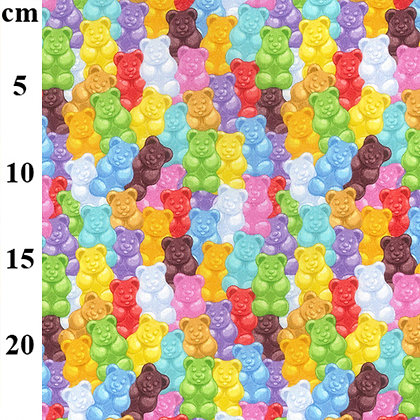 Jelly Baby  150cm wide  qtr metre