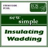 Sew Simple Insulated Wadding 22.5 inch - Per Metre