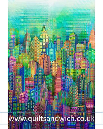 Skylines Multi 104 inches WIDE x 27 inches