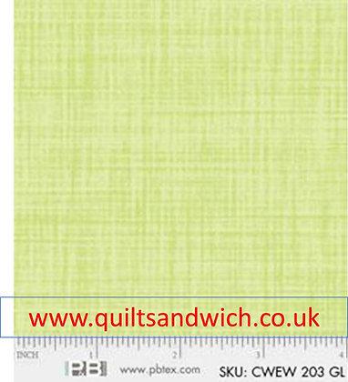 P & B Colour weave gl per qtr metre